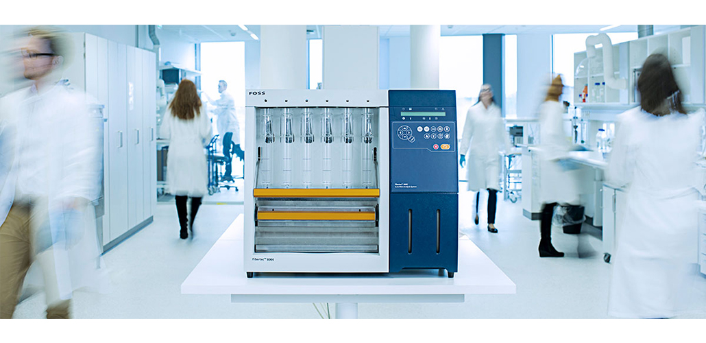 Fibertec™ 8000 - Fully Automated Crude and Detergent Fibre analysis!