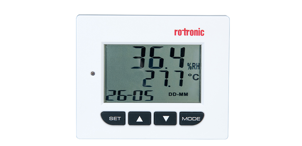 NEW HD1 - Thermo Hygrometer for easy reading
