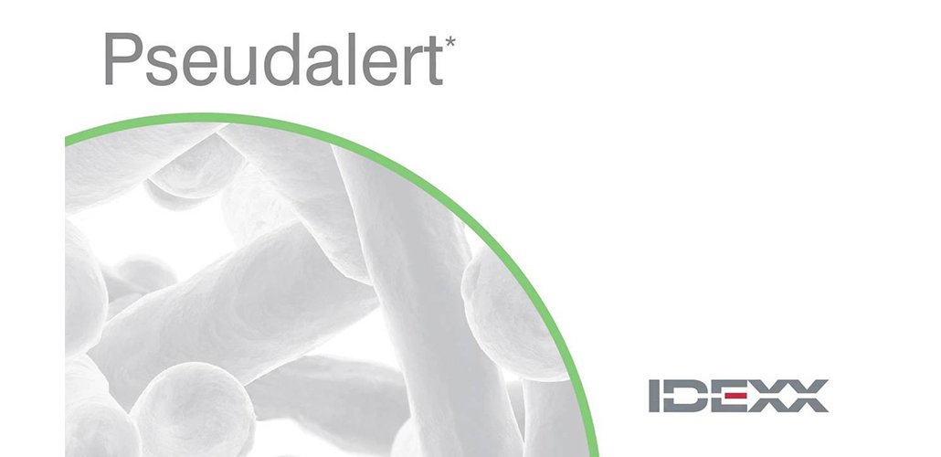 Idexx Pseudalert test is now accepted as Global ISO Standard!