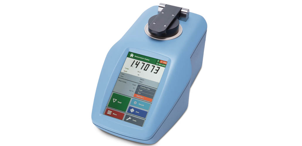NEW touchscreen refractometer