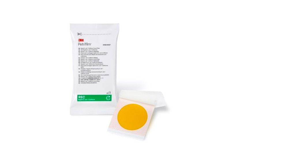 3M launches Faster E.coli and Coliforms count plate. Get your results in 18-24 hours!