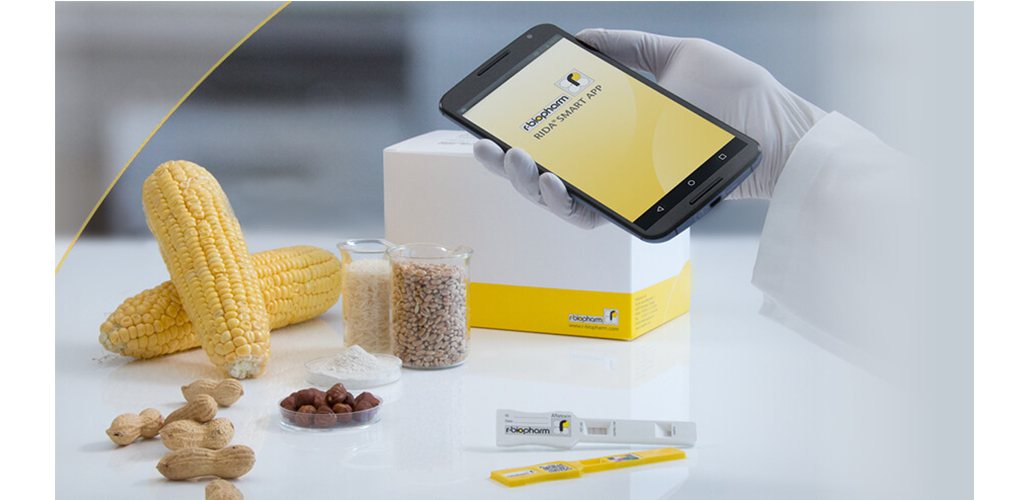 Mycotoxin analysis – easier than ever before with the RIDA(R)SMART APP